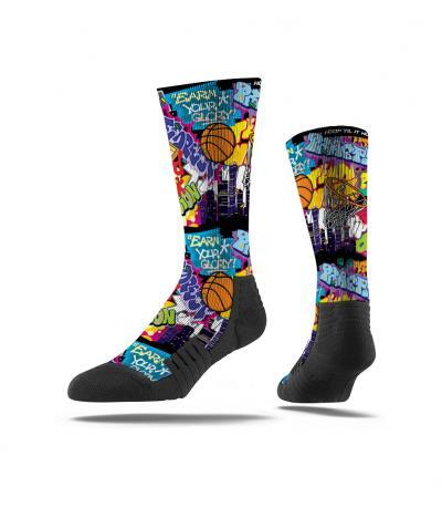 Strideline Graffiti Socks v4